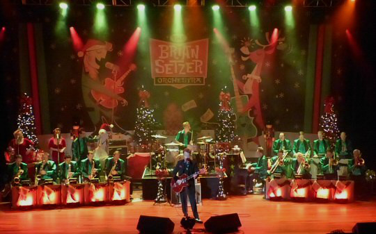brian setzer orchestra brings christmas to the ryman music city nashville org net. Black Bedroom Furniture Sets. Home Design Ideas