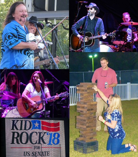 Kid rock s fish fry sizzles in the woods of tennessee for Kid rock fish fry